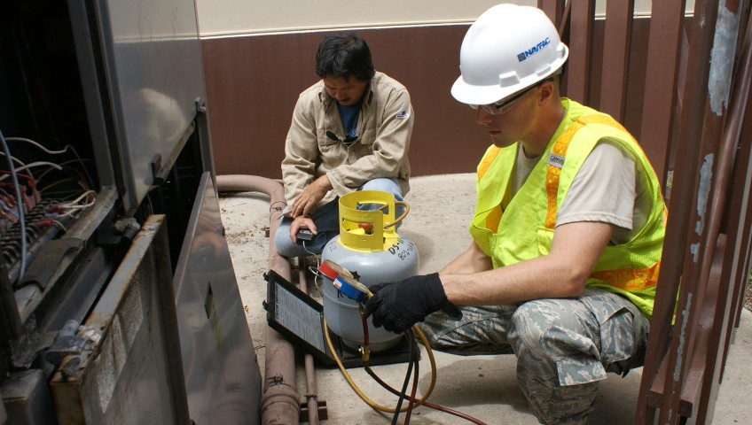 Photo Of HVAC Repairmen - Sonray Service Team